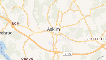 Carte en ligne de Askim