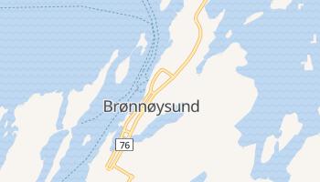 Carte en ligne de Brønnøysund