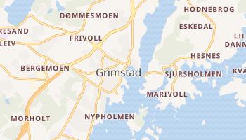 Carte en ligne de Grimstad