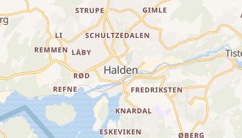 Carte en ligne de Halden