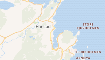 Carte en ligne de Harstad