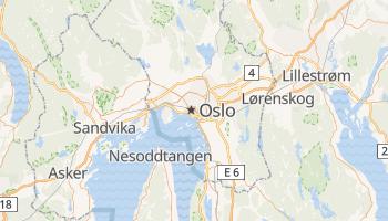 Carte en ligne de Oslo