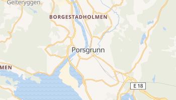 Carte en ligne de Porsgrunn