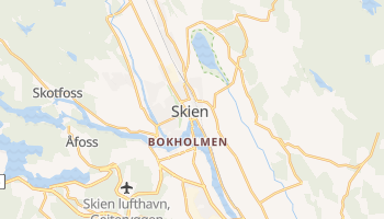 Carte en ligne de Skien