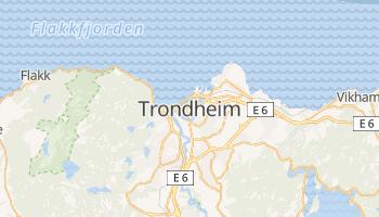 Carte en ligne de Trondheim