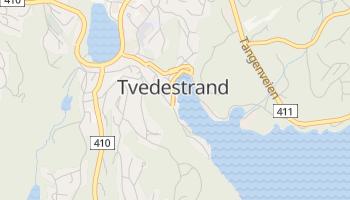 Carte en ligne de Tvedestrand