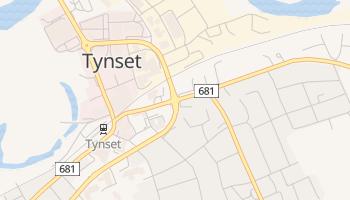 Carte en ligne de Tynset