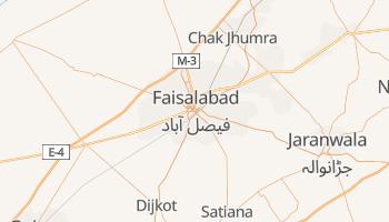 Carte en ligne de Faisalabad