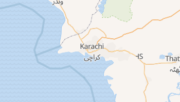 Carte en ligne de Karâchi