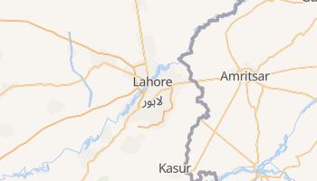 Carte en ligne de Lâhore
