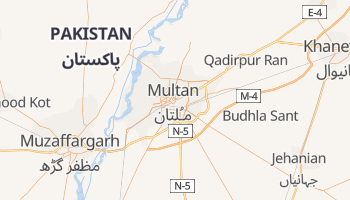 Carte en ligne de Multan