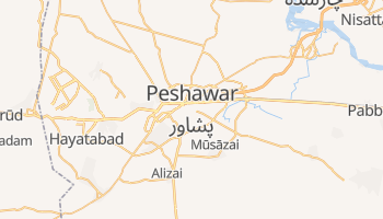 Carte en ligne de Peshawar