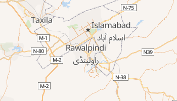 Carte en ligne de Rawalpindi