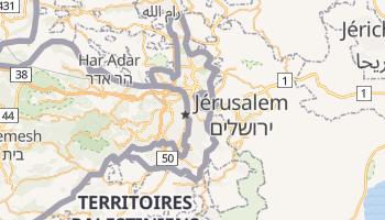Carte en ligne de Jérusalem-Est