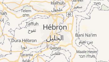 Carte en ligne de Hébron