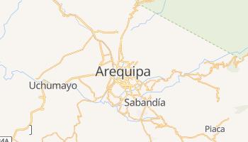Carte en ligne de Arequipa