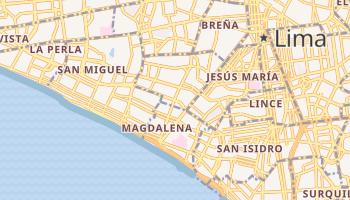 Carte en ligne de Magdalena