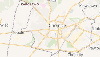 Carte en ligne de Chojnice