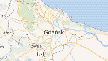 Carte en ligne de Gdańsk
