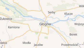 Carte en ligne de Głogów