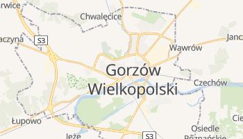 Carte en ligne de Gorzów Wielkopolski