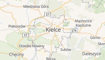 Carte en ligne de Kielce