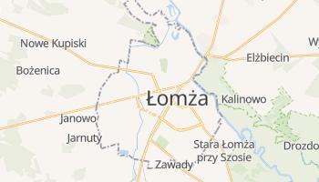 Carte en ligne de Łomża