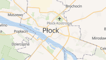 Carte en ligne de Płock