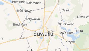 Carte en ligne de Suwałki