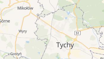 Carte en ligne de Tychy