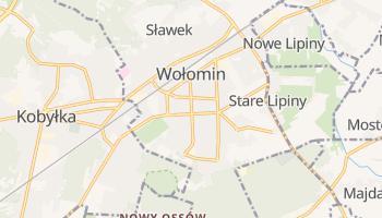Carte en ligne de Wołomin