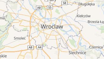 Carte en ligne de Wroclaw