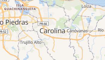 Carte en ligne de Carolina