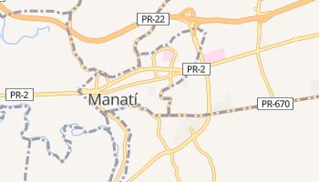 Carte en ligne de Manatí