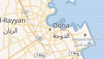 Carte en ligne de Doha