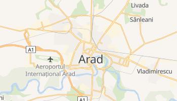 Carte en ligne de Arad