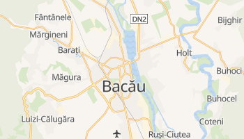 Carte en ligne de Bacău
