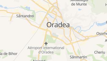 Carte en ligne de Oradea