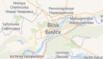 Carte en ligne de Biïsk