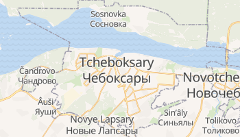 Carte en ligne de Tcheboksary