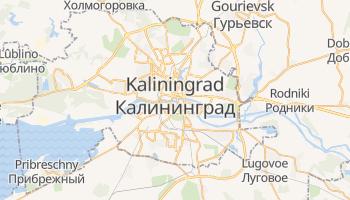 Carte en ligne de Kaliningrad