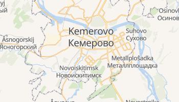 Carte en ligne de Kemerovo
