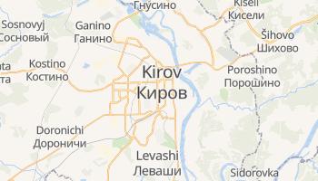 Carte en ligne de Kirov