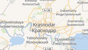Carte en ligne de Krasnodar