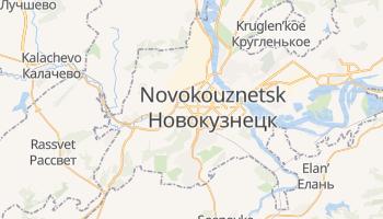 Carte en ligne de Novokouznetsk