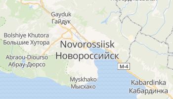 Carte en ligne de Novorossiisk