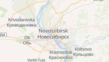 Carte en ligne de Novosibirsk