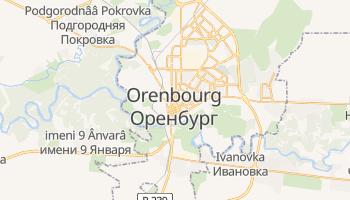 Carte en ligne de Orenbourg