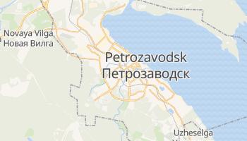 Carte en ligne de Petrozavodsk