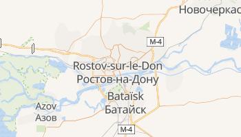 Carte en ligne de Rostov-sur-le-Don